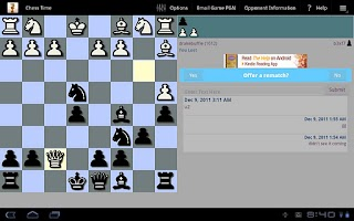 Screenshot of Chess Time™ -Multiplayer Chess