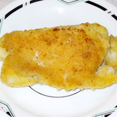 Halibut with Garlic Sauce