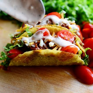 10 best taco salad dressing mayonnaise recipes yummly for Pioneer woman fish tacos