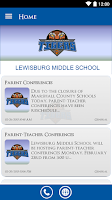 Screenshot of Lewisburg Middle School