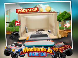 Screenshot of Mechanic Jo - Monster Truck