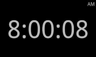 Screenshot of Model Railroad Fast Clock