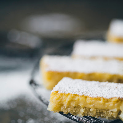 Lemon & Coconut Bars