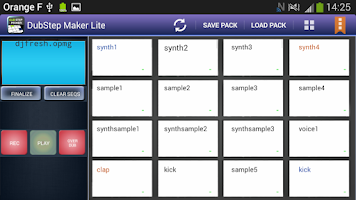 Screenshot of DubStep Maker Lite