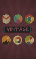 Screenshot of Vintage - Icon Pack