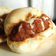 Hearty Meatball Sandwich