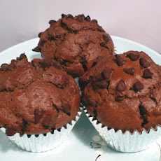 Double Choc-Chip Muffins