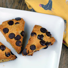 Orange Dark Chocolate Chip Scones
