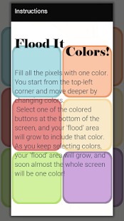 Flood It - Colors! - screenshot