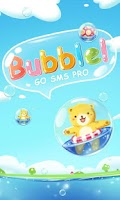 Screenshot of GO SMS Pro Z-Bubble ThemeEX
