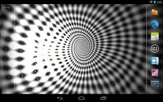 Screenshot of Trippy Wave Live Wall Free