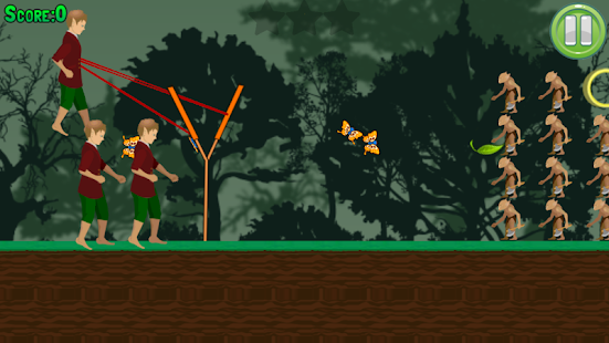 Hobbits Slingshot - screenshot