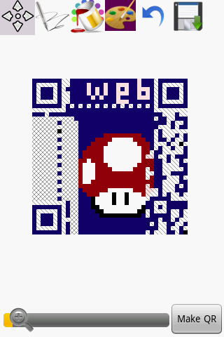 Graphical QR Code Maker