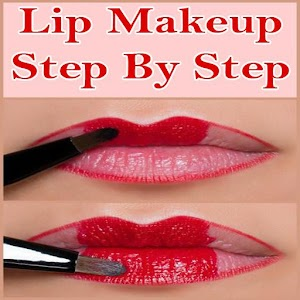 lip makeup step by step android apps on google play
