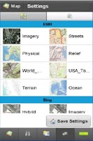 Screenshot of GIS Mobile - Imperious