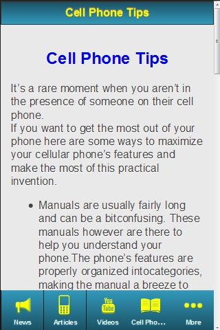 【免費購物App】Cell Phone Guide-APP點子