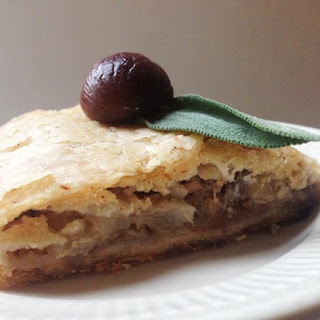 Pear and Chestnut Strudel