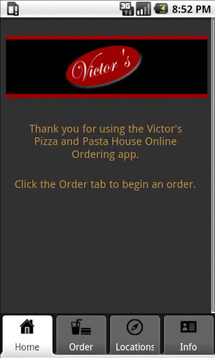 Victor's Pizza Pasta House