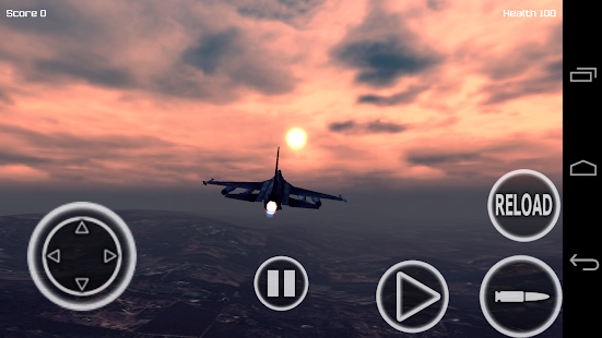 Jet Fighter 3D PRO apk screenshot