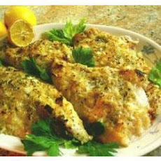 Dijon Crusted Fish Fillets