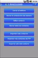 Screenshot of Export Contacts