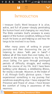 Jesus Calling Devotional Bible - screenshot