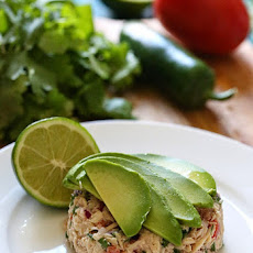 Canned Tuna Ceviche