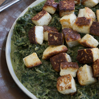 Saag Paneer - Indian-Style Greens with Homemade Cheese
