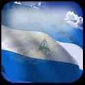 3D Nicaragua Flag icon