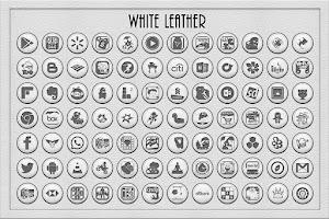 Screenshot of White Leather TSF Shell Theme