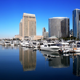 San Diego Convention Center area by Yohanes Soebardi - Buildings & Architecture Office Buildings & Hotels
