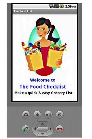 Grocery Checklist