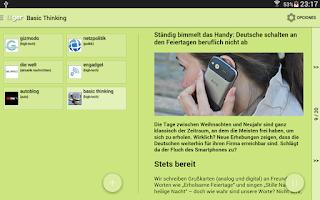 Screenshot of Learn Languages: German