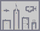 Thumbnail of the map 'City Skyline'