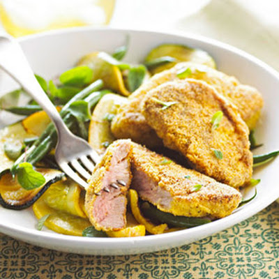 Cornmeal Crusted Pork