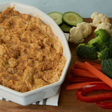 Buffalo Ranch Artichoke Dip