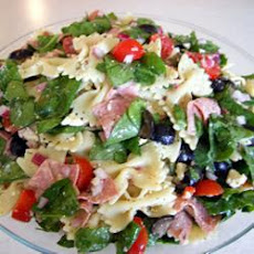 Spinach and Feta Pasta Salad