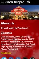 Screenshot of Silver Slipper Casino