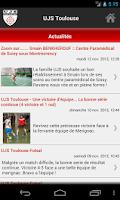 Screenshot of UJS Toulouse Futsal