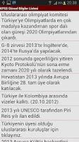 Screenshot of KPSS Güncel Bilgi Takip