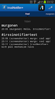 Screenshot of IrssiNotifier+