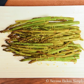 Pan Roasted Asparagus With Lemon Zest