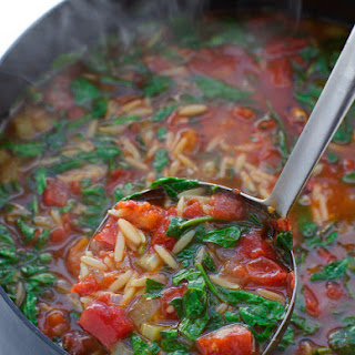 Roasted Garlic Spinach Soup Recipes