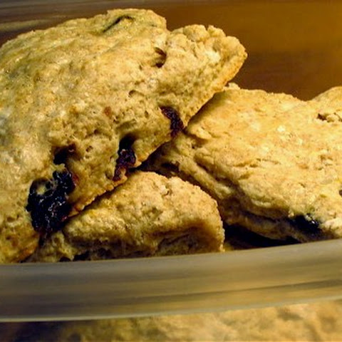 Cardamom and Dried Cherry Scones