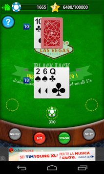 BlackJack 21 Free 154062 APK screenshot thumbnail 2