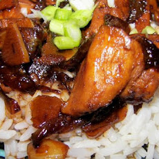 Honey Ginger Glazed Chicken