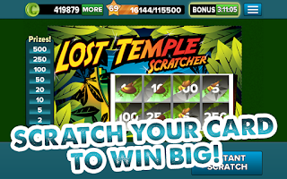 Screenshot of Lotto Heaven™ Scratchers Game