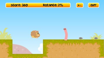 Screenshot of Run Run Hamster Free