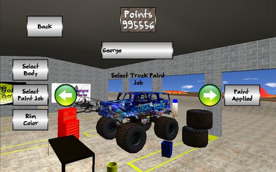 Monster truck mayhem apk 1 5 5 by quatro designs free for Truck design app
