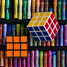 Rubiks cube by Deven Dadbhawala - Artistic Objects Toys (  )
